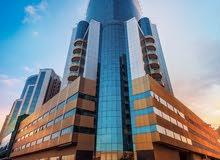 بمقدم21 الف درهم تملك فورا غرفه وصاله بأرقا ابراج عمان