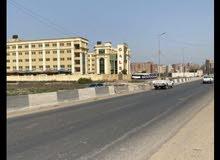ارض موقع مميز ع الدائري المحله امام مدرسه جلوري للغات