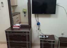 للايجار ستوديو مفروش بالقاسمية الشارقة فرش جيد مساحة كبيرة