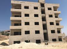شقة للبيع طابق ثالث مساحة 175 متر -يسار _ قيد الإنشاء  في اول ( ضاحية الرشيد )