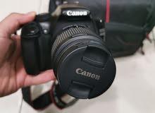 كاميرا كانون D1100 احترافية نظيف باغراضها للبيع