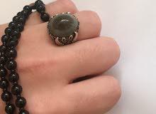 خاتم قديم عقيق سليماني نادر