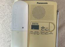 تلفون أرضي لاسلكي ( كوردليس ) Panasonic