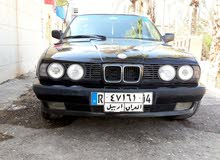 Black BMW 525 1991 for sale