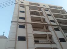 شقة 145 متر برج جديد شارع المطافي بجوار برج المستشارين احمر تقسيط