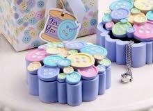 للبيع توزيعات سوفينير إستقبال مولود 36 حبة للتصفية