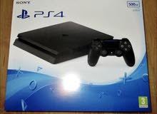A clean New Playstation 4 available for immediate sale.