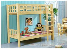 bunk bed with medical mattress