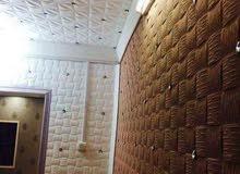 لاعمال كافه انواع الديكورات فلين جدار وسقف جلد تغليف بلاستك سقف ثانوي اشكال بلازمه