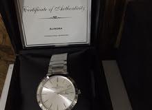 ساعة سويسرية جديدة مامستعملة ماركة (أج ماير)