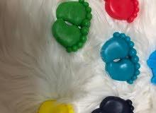 توزيعات صابون للمواليد بيبي مع إمكانية اختيار اللون 20 مطبقية ب 16 دينار