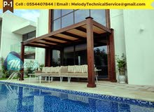Wooden Pergola Manufacturer And Suppliers in Dubai And Abu Dhabi