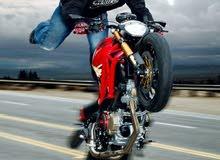 Ducati monster 700cc ايطالية للبدل ع سيارة