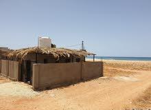 شاليه جديد بالاثاث على شاطئ بوترابة - توكرة