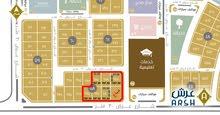 للبيع اراضي سكنية بمخطط درة النخيل على كورنيش الخبر