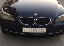 BMW 520 car for sale 2010 in Dammam city
