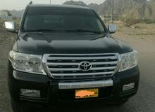 Used condition Toyota Land Cruiser 2009 with +200,000 km mileage
