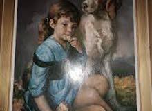 لوحة زيتية للرسام فرانسيسكو ربيرا
