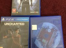 مجموعة العاب PS4 و PS3 للبيع في جدة