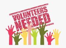 English-speaking volunteers