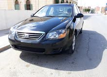 Kia Spectra 2008 For sale - Black color