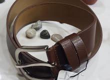 حزام جلد تركي فاخر
