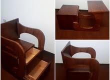 كمود بمكتب بيقلب كرسي للاطفال