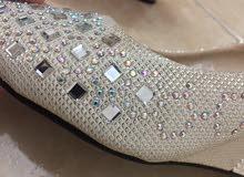 حذاء حريمي للمناسبات والافراح مع كعب متوسط