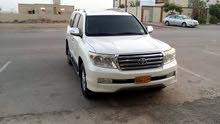 Toyota Land Cruiser 2011 For sale - White color