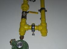 تركيب بيب غاس و شقة و مطعم Gas MS Pipeline
