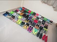 احذية Nike بمقاسات مختلفة وجميعها بحالة ممتازة وجيده جدا