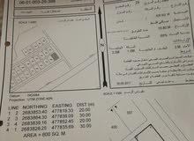 ارض سكنية بمنطقة العوينات بولاية صحار زاويه