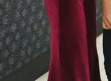 فستان قطيفه استعمال خفيف