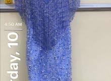فستان أزرق جسميكو