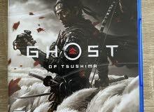 للبيع ghost of tushima امريكي سوني 4