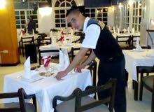 Technicien De Restaurant Luxueux