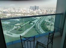 غرفه وصاله للايجار المفروش ببرج السيتي تاور ( فرش نظيف )