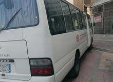 Toyota Coaster for rent available in Saudi Arabia anywhere
