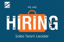 "BE attention please "" we need sales team leader """