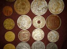 عملات نقدية قديمة فرنسية