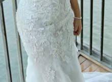 فستان عروس جديد لم يستخدم