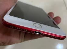 ايفون 7بلس احمر 128قيقا يدعم الفيس تايم مجدد