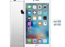 ايفون 6 عادي 64 جيجا اصلي