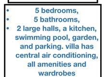 for rent luxury villa in busaiteen