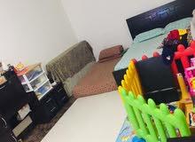 شقة غرفة وصالة