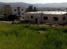 قطعه ارض للبيع في البقعة عين الباشا بالقرب من مصنع الالمنيوم ارال