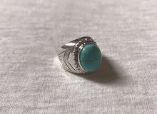 للبيع خاتم فيروز شذري
