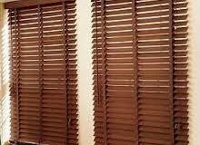 تفصيل وتركيب وصيانة جميع انواع الستائر مكتبية ومنزلية درايكلين بواب اكوردين