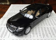 مجسم مرسيدس مايباخ S600 لون أسود / Mercedes Maybach S600 scale model Black color