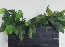 حوض نبات تصطناعي مستعمل بسبط جدا